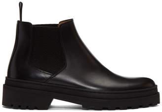A.P.C. Black Marcus Chelsea Boots