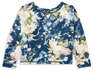 Polo Ralph Lauren Girls' Floral French Terry Sweatshirt - Little Kid