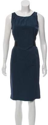 Armani Collezioni Sleeveless Knee-Length Dress