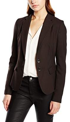 More & More Women's Blazer 88996519 Dark Chocolate Brown (0292), Size