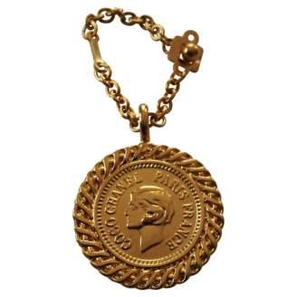 Chanel Gold Metal Bag charms