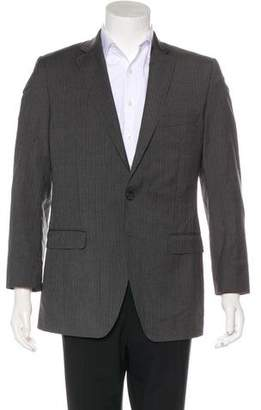 Dolce & Gabbana Virgin Wool Striped Blazer