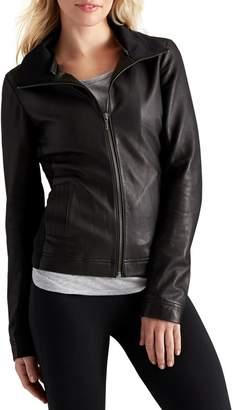 Athleta Strut Leather Jacket