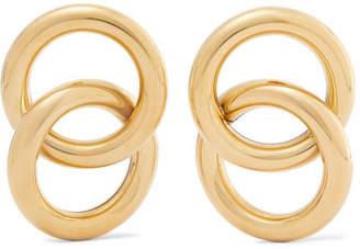Laura Lombardi Interlock Gold-tone Earrings