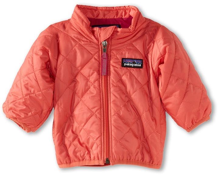 Patagonia Baby Nano Puff Jacket (Infant/Toddler) (Coral) - Apparel