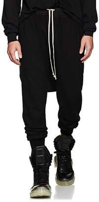 Rick Owens Men's Prisoner Cotton Jersey Drop-Rise Sweatpants