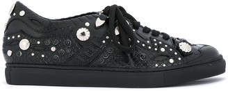 Toga Pulla studded embossed sneakers