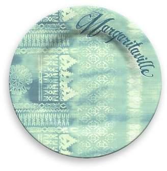 Margaritaville Textile Melamine 10.5 Dinner Plate