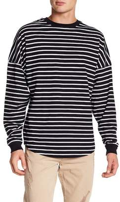 Cotton On & Co. Striped Drop Shoulder Long Sleeve Tee