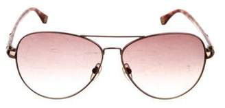 MICHAEL Michael Kors Gradient Aviator Sunglasses