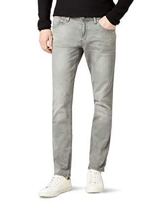 Tom Tailor Men's AEDAN slim stretch Jeans, Grey (grey denim), W29/L34 (Manufacturer size: 29)