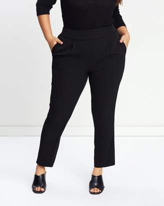 Evans Pull-On Tapered Pants
