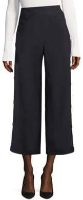 BOSS High-Waist Wide-Leg Pants