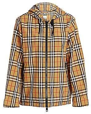 Burberry Women's WInchester Vintage Check Raincoat