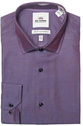 Ben Sherman Slim-Fit Oxford Cotton Dress Shirt