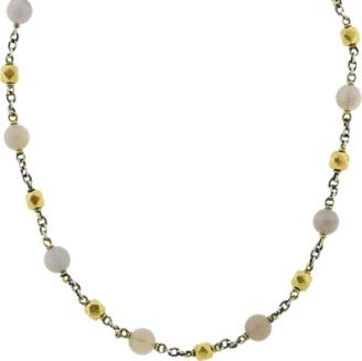 SYLVA & CIE Opal And Vintage Bead Necklace