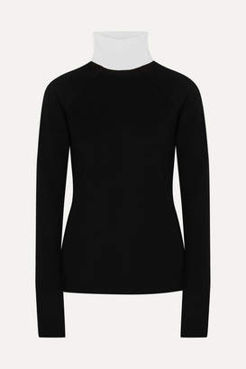Haider Ackermann Wool Turtleneck Sweater - Black