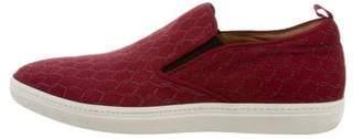 Mezlan Suede Slip-on Sneakers