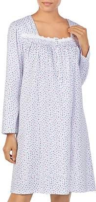 Eileen West Short Long Sleeve Nightgown