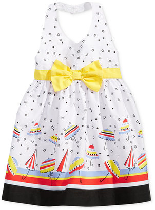 Blueberi Boulevard Umbrella-Print Halter Dress, Baby Girls (0-24 months) $34 thestylecure.com