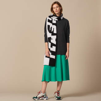 Sandro Long sweater dress