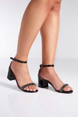 2f8b0ec69 Black Low Heel Sandals For Women - ShopStyle UK