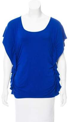 MICHAEL Michael Kors Scoop Neck Short Sleeve T-Shirt