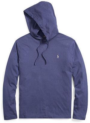Polo Ralph Lauren Cotton Jersey Hooded T-Shirt $49.50 thestylecure.com