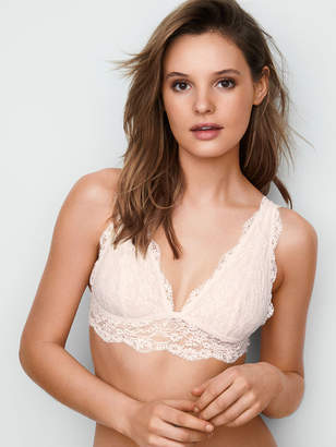 Victoria's Secret The Bralette Collection Floral Lace Plunge