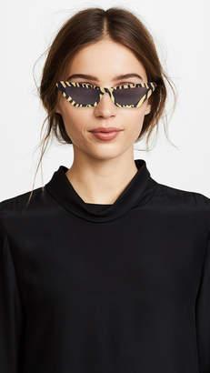 Cat Eye Chimi x Sundae School Square Sunglasses