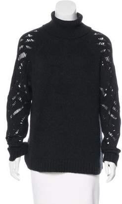 Vince Wool & Camel-Blend Sweater