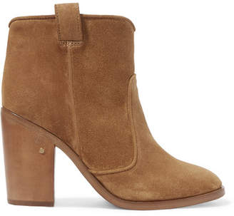 Laurence Dacade Nico Suede Ankle Boots - Camel