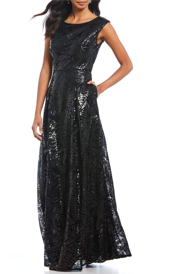 Karl Lagerfeld Paris KARL LAGERFELD PARIS Sequin Gown