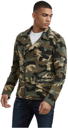 True Religion MENS CAMO MOTO JACKET