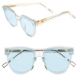Women's Gentle Monster In Scarlet 68Mm Oversize Cat Eye Sunglasses - Clear $249 thestylecure.com