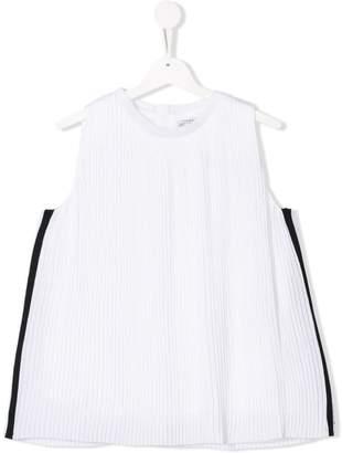 DKNY TEEN pleated top