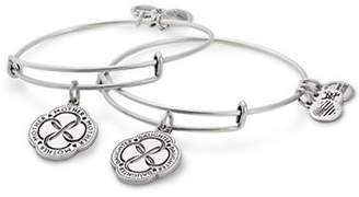 Alex and Ani Two-Piece Infinite Connection Bracelet Set
