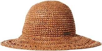 O'Neill Women's Tulum Straight Brim Boater Hat