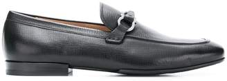 Salvatore Ferragamo twisted Gancio loafers