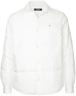 Undercover hooded shirt