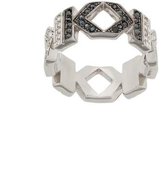 Karl Lagerfeld Double K ring
