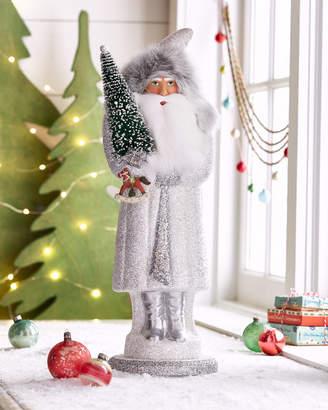 Ino Schaller White Frost Santa Figure