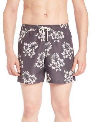 J. Lindeberg Banks Pattern Swim Shorts