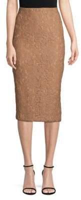 Max Mara Ragione Lace Pencil Skirt