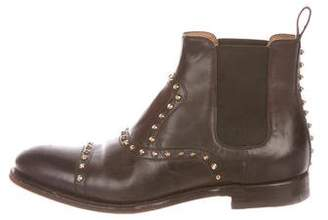 Gucci Studded Ankle Boots
