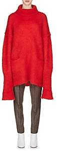 Maison Margiela Women's Mohair-Blend Turtleneck Sweater-Red