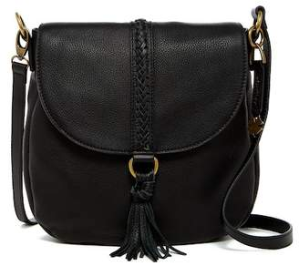 Lucky Brand Ali Leather Flap Crossbody $188 thestylecure.com