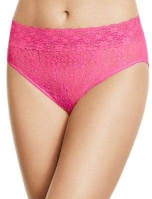 Wacoal Halo Lace Hi-Cut Briefs