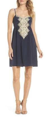 Lilly Pulitzer R) Kelsea Silk Dress