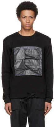 TAKAHIROMIYASHITA TheSoloist. Black Mesh Pocket Pullover